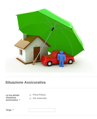 Italian Insurance Request Form