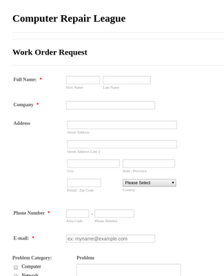 IT Service Request Form-2