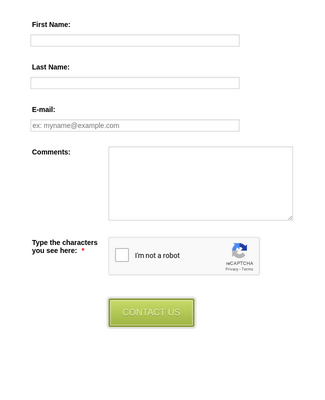 Form Generator | Contact Form