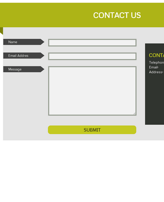 Full Width Contact Page - Responsive