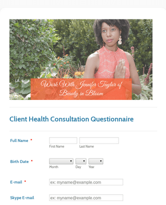 Client Health Consultation Survey