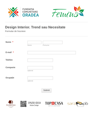 Design Interior. Trend sau Necesitate