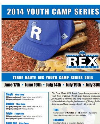REX Kids Camp Registration