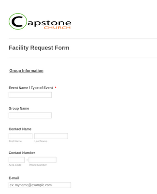 Facility Request Form 2