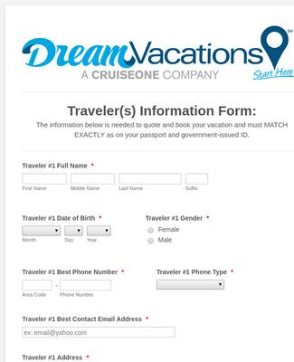 Client Passenger Information