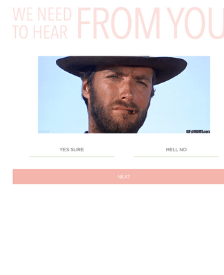 Animated GIF Feedback Form