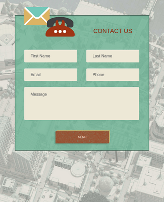 Compact Contact Form - Phone Theme
