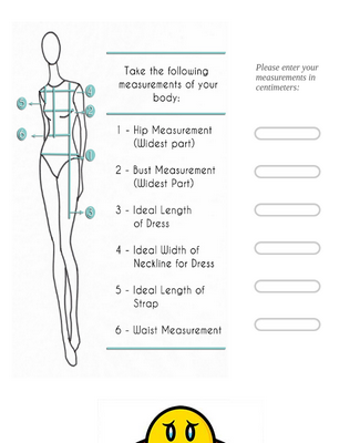 Body Measurement Form