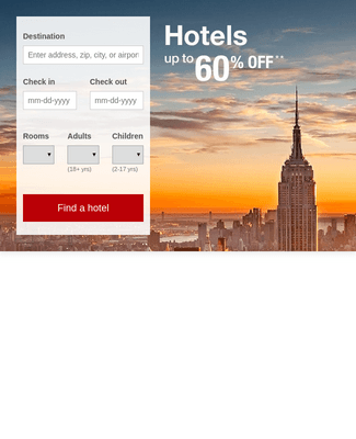 Customized Hotel Booking Forms