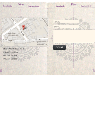 Contact Form with Map Sidebar