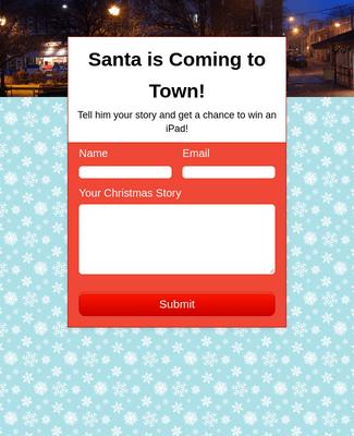 Christmas Story Contest