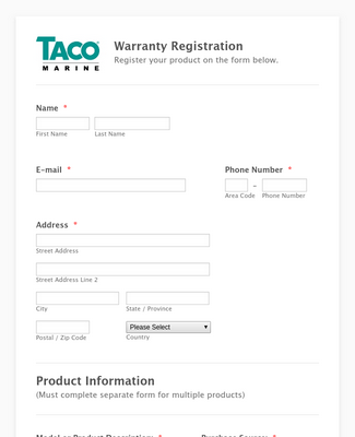 Product Registration 5