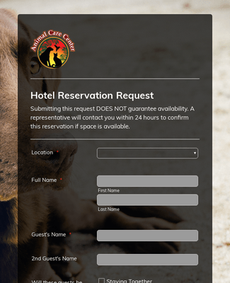 Hotel Reservation Request - NEW