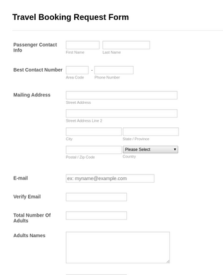 General Purchase Requisition Form Template Jotform
