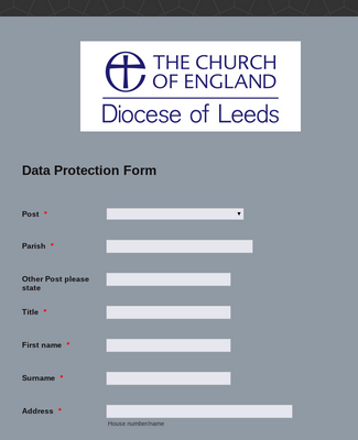 Data Protection Form