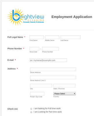 Employment Application 9