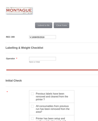 Product Evaluation Checklist