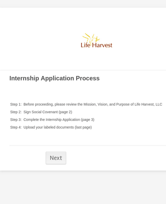 LH Employment Applicaiton
