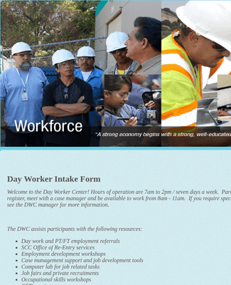 Day Worker Intake Form  rev 5