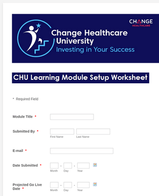 Healthcare Worksheet Form