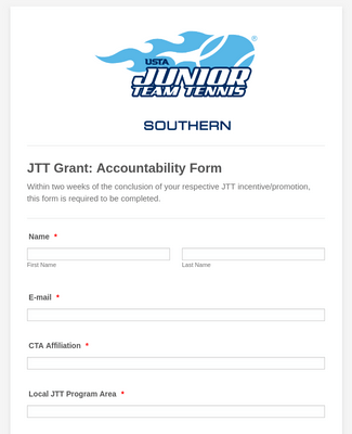 JTT Grant: Accountability Form
