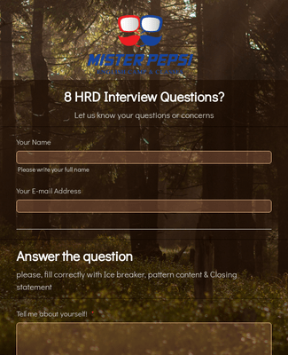 1. Question of HRD in Interview