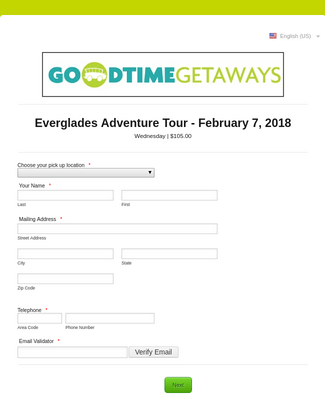 Everglades Adventure Tour - February 7, 2018