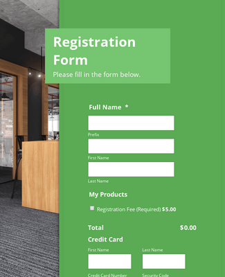 Worldpay US Workshop Registration Form