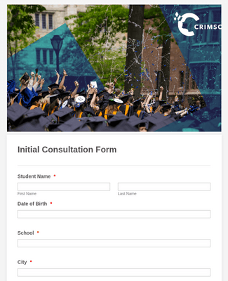 Initial Consultation Form - College Education