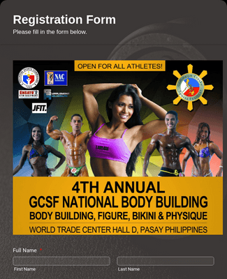 4TH Annual GCSF National Bodybuilding Registration Form2