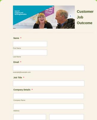 Customer Job Outcome