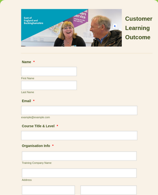 Customer Learning Outcome