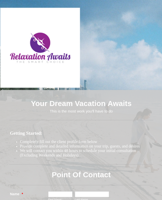 Your Dream Vacation Awaits