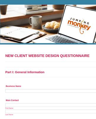 SEO Client Questionnaire