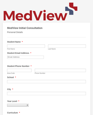 MedView Initial Consultation Form