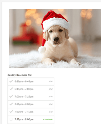 Oakville Place - Pet Photos with Santa