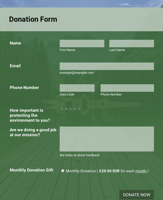GoCardless Donation Form