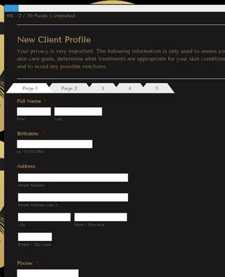New Client Profile