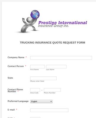 Prestige2 Truck Quote Form_New