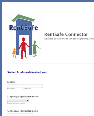 RentSafe Connector, English