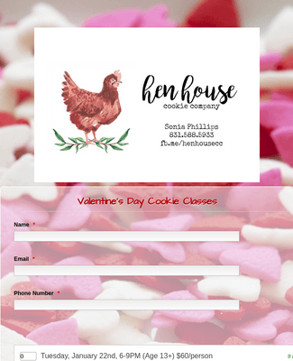 Cookie Class Template