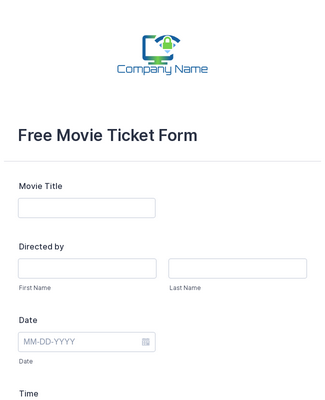 Free Movie Ticket