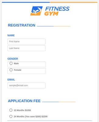 Sports Forms Form Templates Jotform