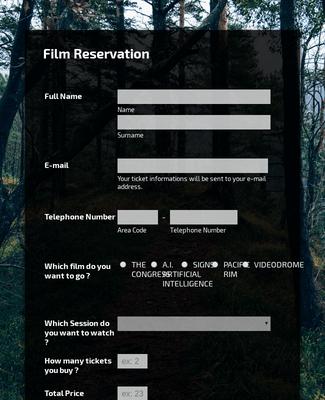 Film Rezervasyonu