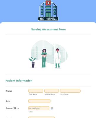 Nursing Assessment Form Template Jotform Medical & nursing, nursing assessment, nursing courses & subject areas. nursing assessment form template jotform