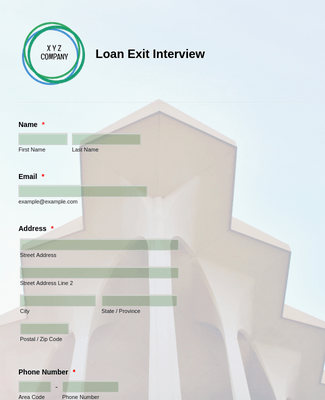 Loan Exit Interview