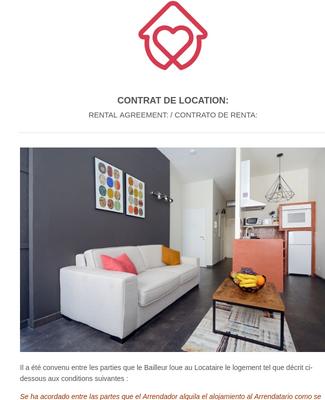 Contrat de Location en Ligne PDF