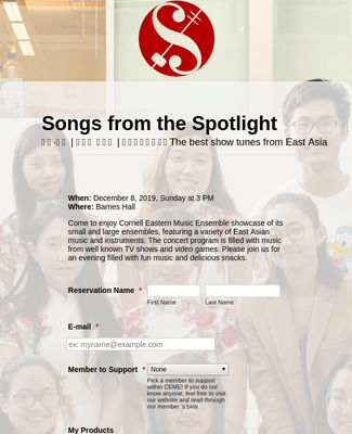 Songs from the Spotlight