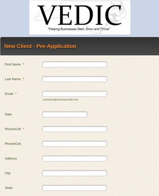 Loan Pre-Application Form