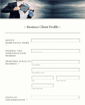 Business Client Profile